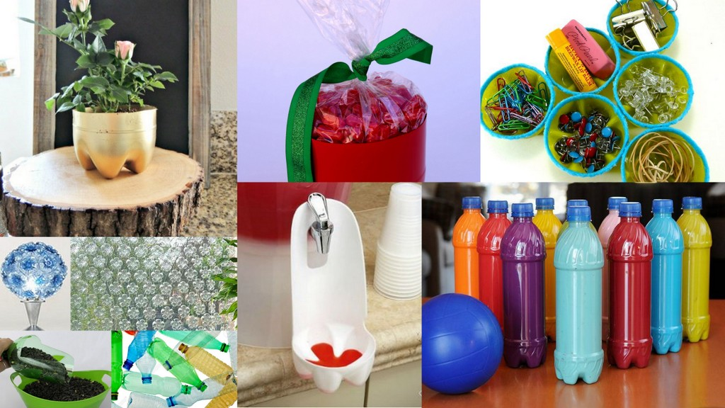 10 ideas and projects for gifts made with plastic